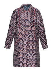 Mother Of Pearl Davenport Star Print Coat