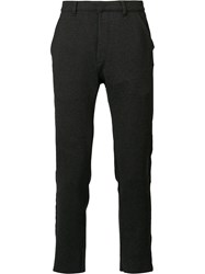 Osklen Slim Fit Tailored Trousers Black