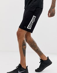Calvin Klein Performance Statement Logo Sweat Shorts In Black