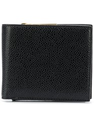 Thom Browne Fold Out Coin Purse Billfold Black