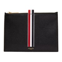 Thom Browne Black Large Coin Pouch