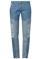 Kookai Trousers Bleack Bleached Denim