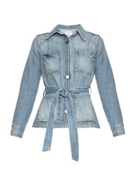 Frame Denim Le Patch Pocket Denim Jacket