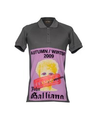 John Galliano Polo Shirts Lead
