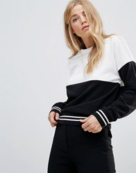 New Look Mono Block Sweat Black