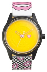 Harajuku Lovers Resin Solar Watch 40Mm Limited Edition Smoochy