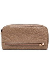 Alexander Wang Textured Leather Wallet Light Brown