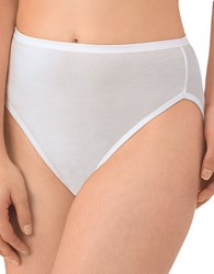 Jockey 3 Pack Supersoft French Cut White