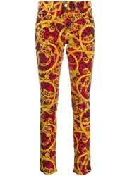 Versace Jeans Couture Baroque Print Jeans 60