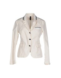 Aquarama Suits And Jackets Blazers Women Ivory