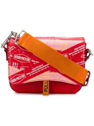 Heron Preston Canal Shoulder Bag Red