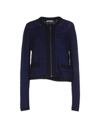 Max And Co. Knitwear Cardigans Women Dark Blue