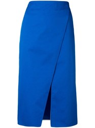 Ports 1961 Knee Length Skirt Blue