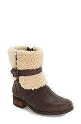 Uggr Women's Ugg 'Blayre Ii' Shearling Cuff Bootie Lodge Leather