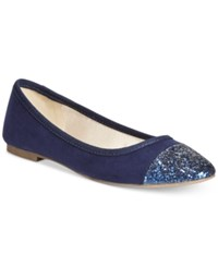 Styleandco. Style And Co. Tiffanie Flats Only At Macy's Women's Shoes Navy