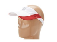Salomon Cap Xr Visor Ii White Victory Red Caps