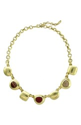 Women's Cole Haan Chunky Semiprecious Stone Collar Necklace