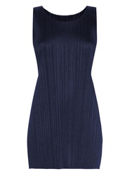 Issey Miyake Sleeveless Pleated Top