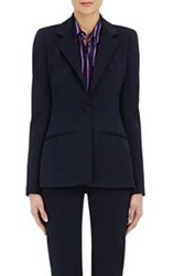 Altuzarra Women's Ponte Knit Single Button Acacia Jacket Blue