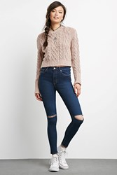 Forever 21 Sculpted High Rise Skinny Jeans