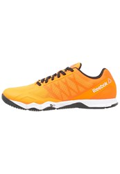 Reebok Crossfit Speed Tr Sports Shoes Firespark White Black Orange