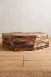 Anthropologie Acamar Coffee Table Brown