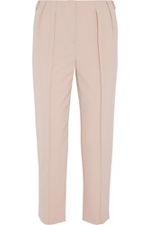 Philosophy Pleated Crepe Tapered Pants Pink