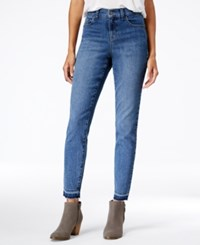 Styleandco. Style Co. Petite Released Hem Pacific Wash Skinny Jeans Only At Macy's