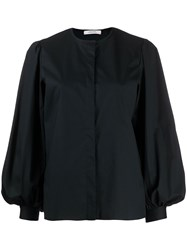 Dorothee Schumacher Poplin Power Blouse Black