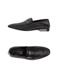 Grey Daniele Alessandrini Moccasins Dark Brown