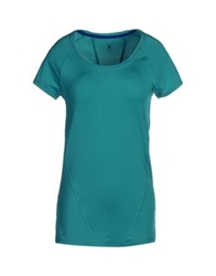 Y.A.S. Sport T Shirts Green