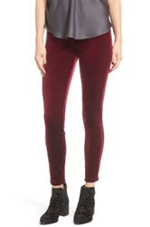 Blanknyc Denim Velvet High Rise Skinny Jeans Purple