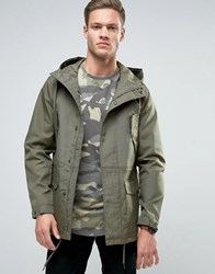 Only And Sons Light Weight Field Parka Kalamata Black