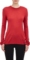 Jil Sander Crewneck Sweater Red