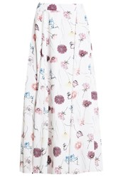 Mintandberry Maxi Skirt White Alyssum