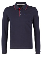 New Man Piki Polo Shirt Navy Dark Blue
