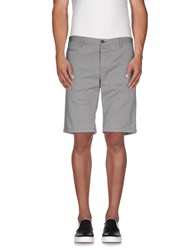 Icon Trousers Bermuda Shorts Men Grey