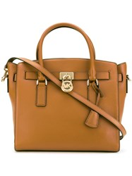 Michael Michael Kors Top Handle Tote Women Leather One Size Brown