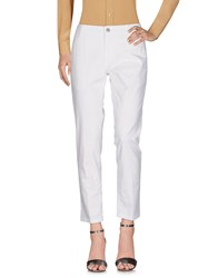 Entre Amis Casual Pants White