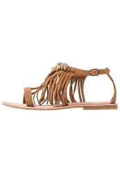 Molly Bracken Sandals Camel