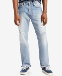 Levi's 541 Athletic Fit Ripped Jeans Johnny Destructed