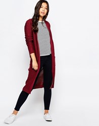 Blend She Mia Long Cardigan Tawny Port
