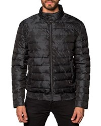 Jared Lang Lightweight Quilted Puffer Jacket Black