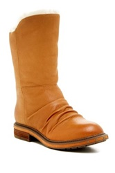 Naya Rook Faux Fur Lined Boot Brown