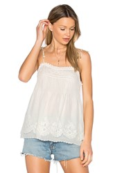Joie Pearlene Cami White