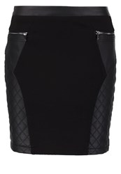 Morgan Judith Mini Skirt Noir Black