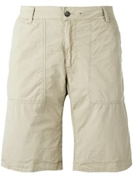 Woolrich Reversible Camouflage Shorts Nude Neutrals