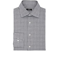 Fairfax Men's Glen Plaid Cotton Shirt Blue