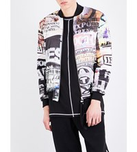 Blood Brother Showreel Shell Bomber Jacket All Over Print