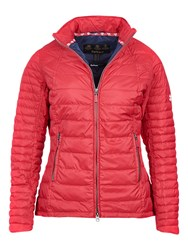 Barbour Chock Quilted Jacket Red